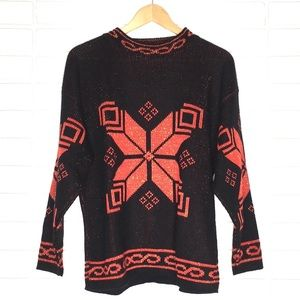 VINTAGE Fair Isle Holiday/Christmas Sweater